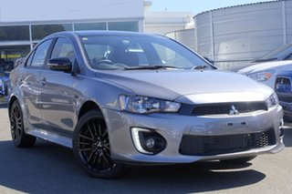 2017 Mitsubishi Lancer CF MY17 Black Edition Titanmium/black Clot 6 Speed Constant Variable Sedan.