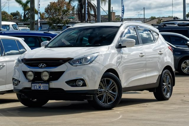 Used Hyundai ix35 LM3 MY14 Trophy, 2014 Hyundai ix35 LM3 MY14 Trophy Pearl White 6 Speed Sports Automatic Wagon