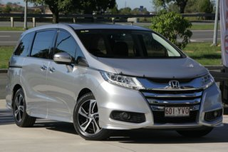 2014 Honda Odyssey RC MY14 VTi-L Silver 7 Speed Constant Variable Wagon.