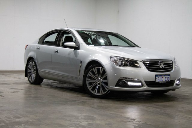 Used Holden Calais VF MY14 V, 2014 Holden Calais VF MY14 V Silver 6 Speed Sports Automatic Sedan