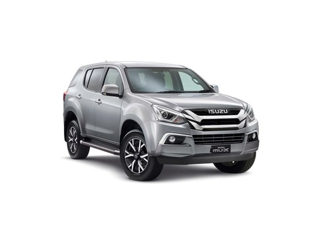 New Isuzu MU-X MY19 LS-U Rev-Tronic, 2019 Isuzu MU-X MY19 LS-U Rev-Tronic Titanium Silver 6 Speed Sports Automatic Wagon