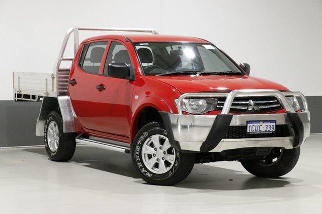 Used Mitsubishi Triton MN MY15 GLX (4x4), 2015 Mitsubishi Triton MN MY15 GLX (4x4) Red 4 Speed Automatic 4x4 Double Cab Utility