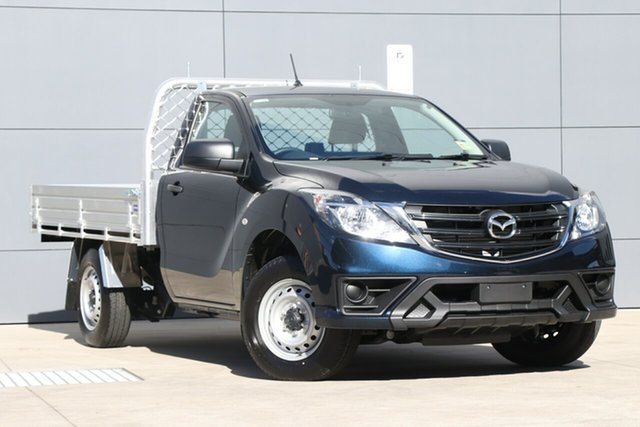 New Mazda BT-50 UR0YE1 XT 4x2, 2019 Mazda BT-50 UR0YE1 XT 4x2 Deep Crystal Blue 6 Speed Manual Cab Chassis
