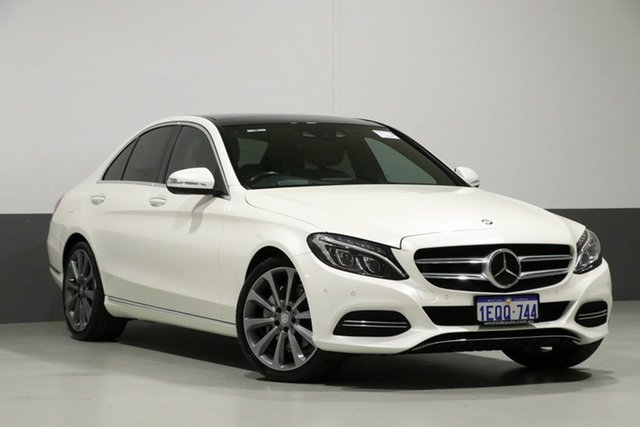 Used Mercedes-Benz C250 205 BlueTEC, 2014 Mercedes-Benz C250 205 BlueTEC Diamond White 7 Speed Automatic Sedan