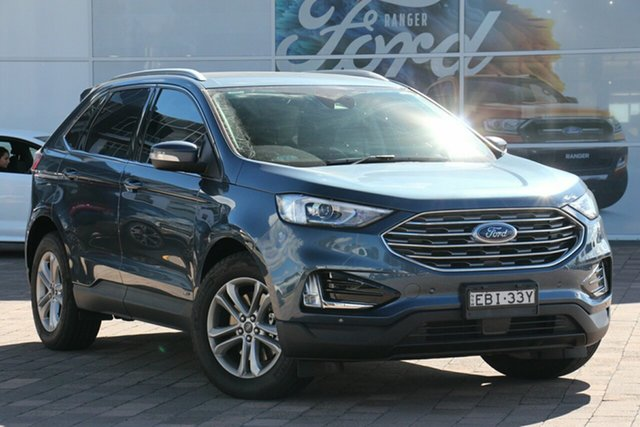 Demo Ford Endura CA 2019MY Trend SelectShift AWD, 2018 Ford Endura CA 2019MY Trend SelectShift AWD Blue Metallic 8 Speed Sports Automatic SUV