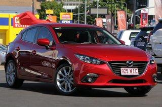 2016 Mazda 3 BM5436 SP25 SKYACTIV-MT Soul Red 6 Speed Manual Hatchback.