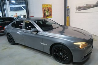 2009 BMW 740i F01 MY10 Steptronic Grey 6 Speed Sports Automatic Sedan.