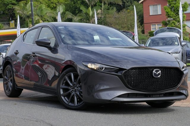 New Mazda 3 BP2H7A G20 SKYACTIV-Drive Evolve, 2019 Mazda 3 BP2H7A G20 SKYACTIV-Drive Evolve Machine Grey 6 Speed Sports Automatic Hatchback