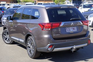 2015 Mitsubishi Outlander ZK MY16 LS 2WD Ironbark 6 Speed Constant Variable Wagon.