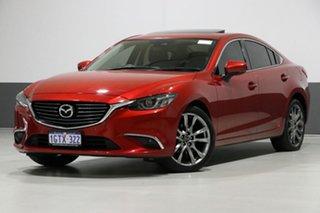 2016 Mazda 6 6C MY17 (gl) GT Red 6 Speed Automatic Sedan.
