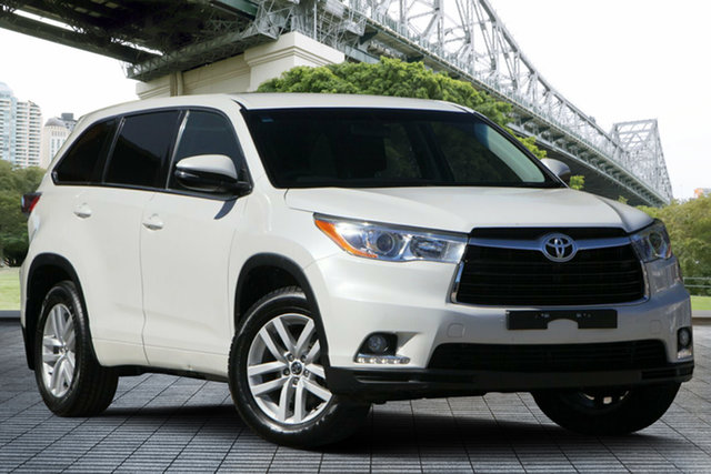 Used Toyota Kluger GSU55R GX AWD, 2016 Toyota Kluger GSU55R GX AWD White 6 Speed Sports Automatic Wagon