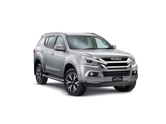 New Isuzu MU-X MY19 LS-T Rev-Tronic, 2019 Isuzu MU-X MY19 LS-T Rev-Tronic Titanium Silver 6 Speed Sports Automatic Wagon