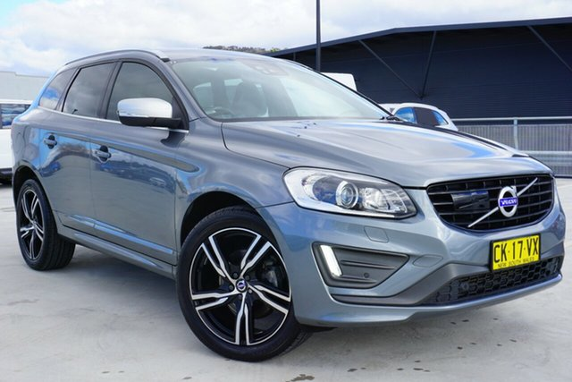 Used Volvo XC60 DZ MY17 T5 Geartronic AWD R-Design, 2017 Volvo XC60 DZ MY17 T5 Geartronic AWD R-Design Grey 8 Speed Sports Automatic Wagon