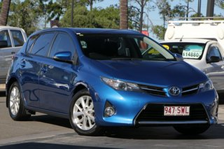 2013 Toyota Corolla ZRE182R Ascent S-CVT Blue 7 Speed Constant Variable Hatchback.