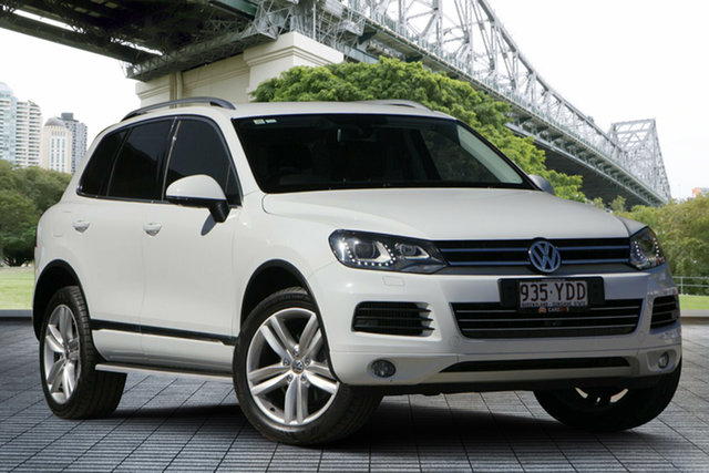 Used Volkswagen Touareg 7P MY13 V6 TDI Tiptronic 4MOTION, 2013 Volkswagen Touareg 7P MY13 V6 TDI Tiptronic 4MOTION White 8 Speed Sports Automatic Wagon