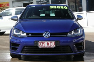 2015 Volkswagen Golf VII MY15 R DSG 4MOTION Blue 6 Speed Sports Automatic Dual Clutch Hatchback