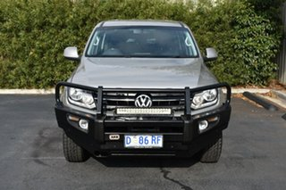 2013 Volkswagen Amarok 2H MY13 TDI400 4Mot Trendline Silver 6 Speed Manual Utility.