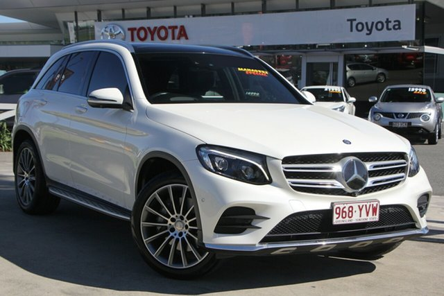 Used Mercedes-Benz GLC250 X253 d 9G-Tronic 4MATIC, 2015 Mercedes-Benz GLC250 X253 d 9G-Tronic 4MATIC White 9 Speed Sports Automatic Wagon