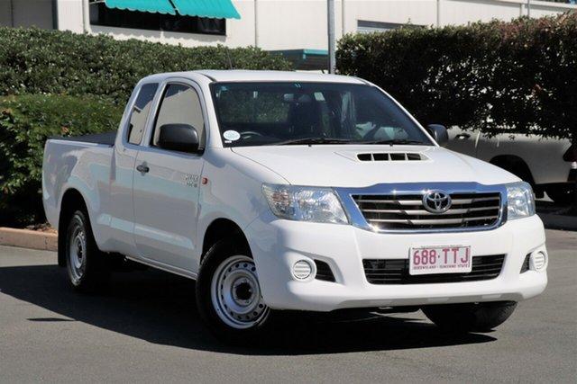 Used Toyota Hilux KUN16R MY14 SR Xtra Cab 4x2, 2014 Toyota Hilux KUN16R MY14 SR Xtra Cab 4x2 Glacier 5 Speed Manual Utility