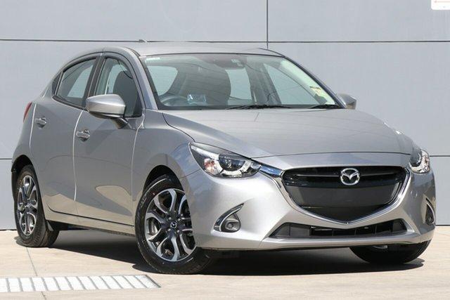 Demo Mazda 2 DJ2HAA Genki SKYACTIV-Drive, 2019 Mazda 2 DJ2HAA Genki SKYACTIV-Drive Aluminium 6 Speed Sports Automatic Hatchback