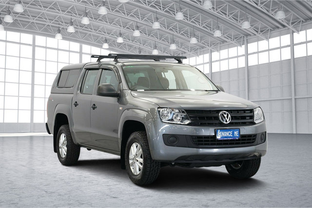 Used Volkswagen Amarok 2H MY16 TDI420 4MOTION Perm Core, 2016 Volkswagen Amarok 2H MY16 TDI420 4MOTION Perm Core Grey 8 Speed Automatic Utility