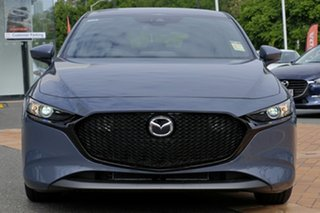 2020 Mazda 3 BP G20 Pure Polymetal Grey 6 Speed Automatic Hatchback.