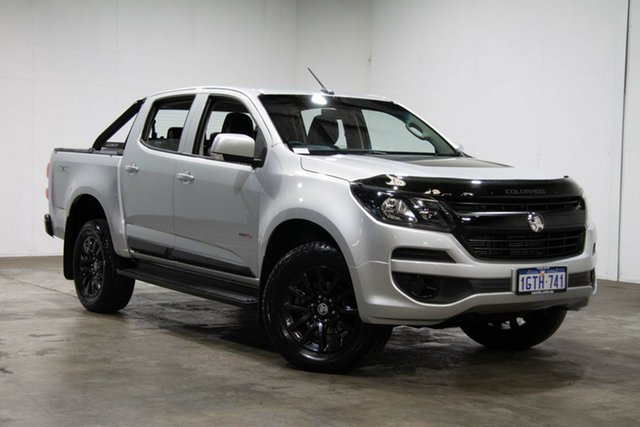 Used Holden Colorado RG MY19 LS Pickup Crew Cab, 2018 Holden Colorado RG MY19 LS Pickup Crew Cab Silver & Chrome 6 Speed Sports Automatic Utility