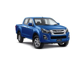 2019 Isuzu D-MAX MY19 LS-M Crew Cab Cobalt Blue 6 Speed Sports Automatic Utility.
