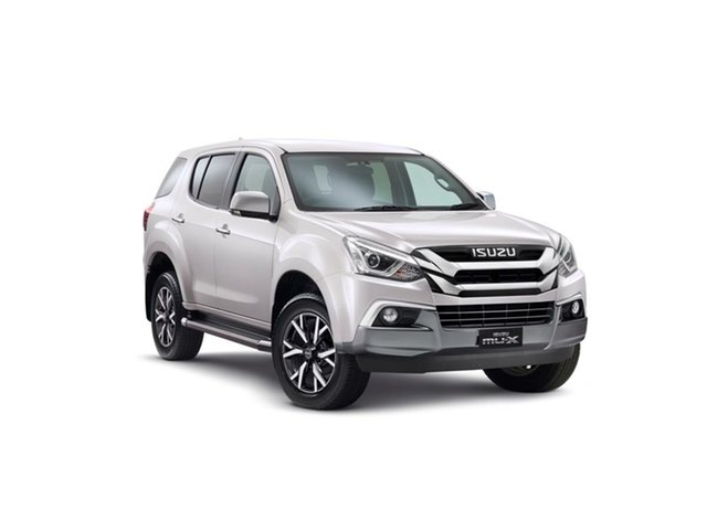New Isuzu MU-X MY19 LS-U Rev-Tronic, 2019 Isuzu MU-X MY19 LS-U Rev-Tronic Silky White 6 Speed Sports Automatic Wagon