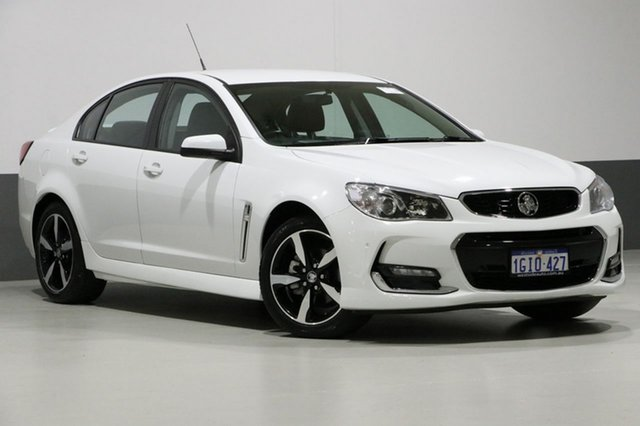 Used Holden Commodore VF II MY17 SV6, 2017 Holden Commodore VF II MY17 SV6 White 6 Speed Automatic Sedan