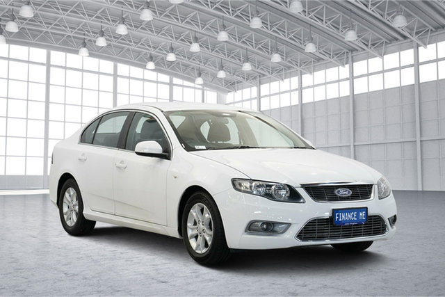 Used Ford Falcon FG G6, 2010 Ford Falcon FG G6 White 6 Speed Sports Automatic Sedan