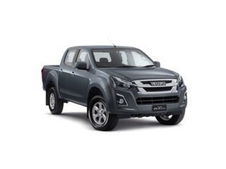 2019 Isuzu D-MAX MY19 LS-M Crew Cab Obsidian Grey 6 Speed Manual Utility.