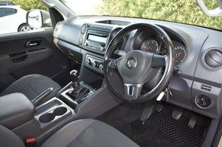 2013 Volkswagen Amarok 2H MY13 TDI400 4Mot Trendline Silver 6 Speed Manual Utility