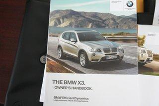 2014 BMW X3 F25 MY1213 xDrive20d Steptronic Black 8 Speed Automatic Wagon
