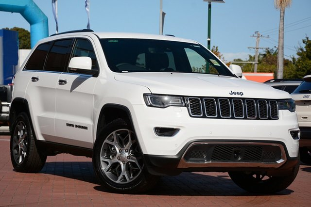 New Jeep Grand Cherokee WK MY20 Limited, 2020 Jeep Grand Cherokee WK MY20 Limited Bright White 8 Speed Sports Automatic Wagon