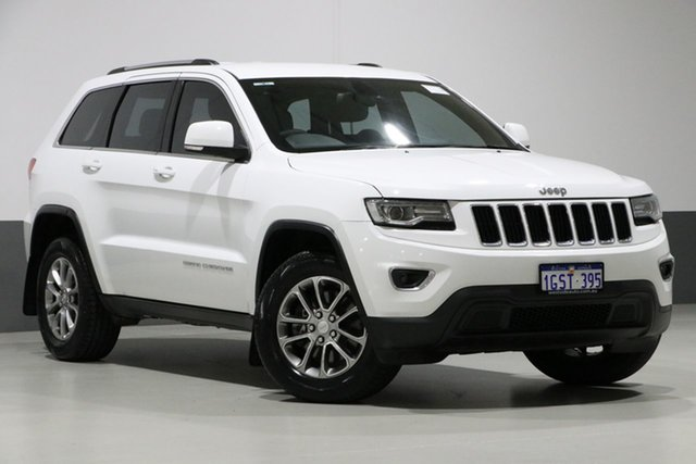 Used Jeep Grand Cherokee WK MY14 Laredo (4x4), 2014 Jeep Grand Cherokee WK MY14 Laredo (4x4) White 8 Speed Automatic Wagon
