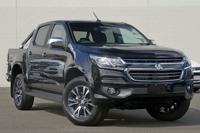 New Holden Colorado RG MY19 LTZ Pickup Crew Cab, 2019 Holden Colorado RG MY19 LTZ Pickup Crew Cab Mineral Black 6 Speed Sports Automatic Utility