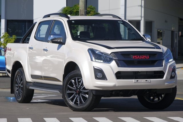 New Isuzu D-MAX MY19 X-Runner Crew Cab, 2019 Isuzu D-MAX MY19 X-Runner Crew Cab Silky White 6 Speed Sports Automatic Utility
