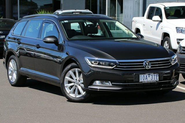 Demo Volkswagen Passat 3C (B8) MY19 132TSI DSG Comfortline, 2019 Volkswagen Passat 3C (B8) MY19 132TSI DSG Comfortline Manganese Grey 7 Speed