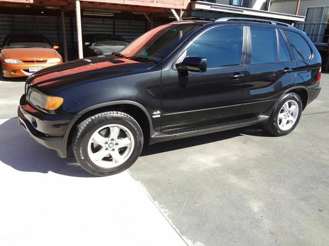 Used BMW X5 E53 3.0I, 2003 BMW X5 E53 3.0I Black 5 Speed Auto Steptronic Wagon