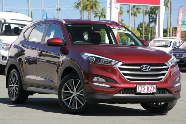 Used Hyundai Tucson TL Active X 2WD, 2016 Hyundai Tucson TL Active X 2WD Red 6 Speed Sports Automatic Wagon