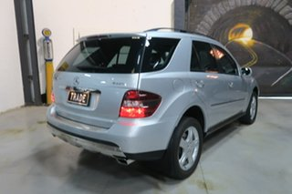 2007 Mercedes-Benz ML320 CDI W164 MY08 Luxury Silver 7 Speed Sports Automatic Wagon