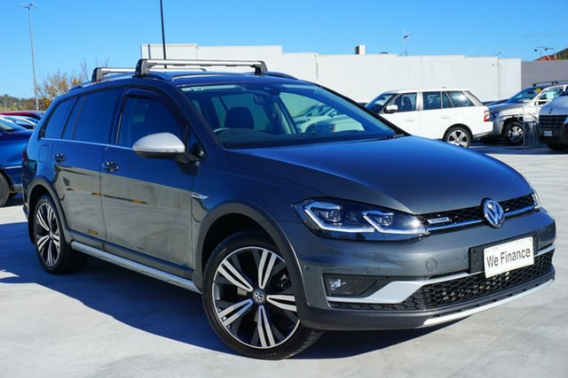 Used Volkswagen Golf 7.5 MY18 Alltrack DSG 4MOTION 135TDI Premium, 2018 Volkswagen Golf 7.5 MY18 Alltrack DSG 4MOTION 135TDI Premium Grey 7 Speed