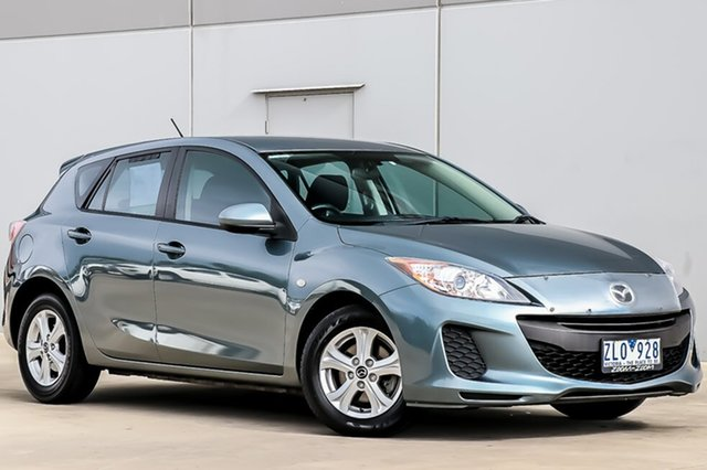 Used Mazda 3 BL10F2 MY13 Neo Activematic, 2012 Mazda 3 BL10F2 MY13 Neo Activematic Dolphin Grey 5 Speed Sports Automatic Hatchback