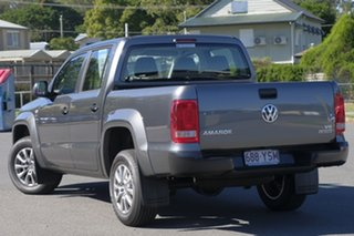2018 Volkswagen Amarok 2H MY19 TDI550 4MOTION Perm Core Indium Grey 8 Speed Automatic Utility.