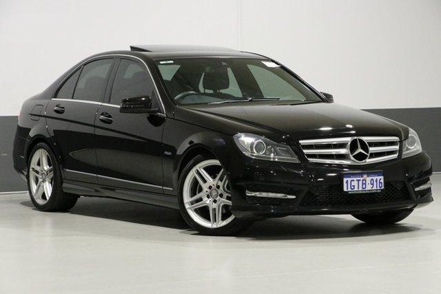 Used Mercedes-Benz C250 W204 MY11 Avantgarde BE, 2011 Mercedes-Benz C250 W204 MY11 Avantgarde BE Black 7 Speed Automatic G-Tronic Sedan
