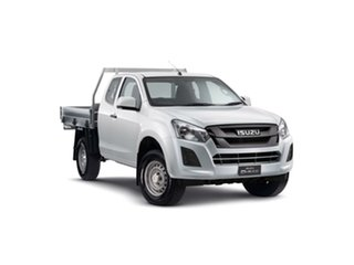 2019 Isuzu D-MAX MY19 SX Space Cab Splash White 6 Speed Sports Automatic Cab Chassis.