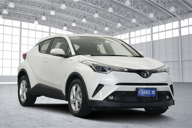 Used Toyota C-HR NGX10R S-CVT 2WD, 2018 Toyota C-HR NGX10R S-CVT 2WD White 7 Speed Constant Variable Wagon