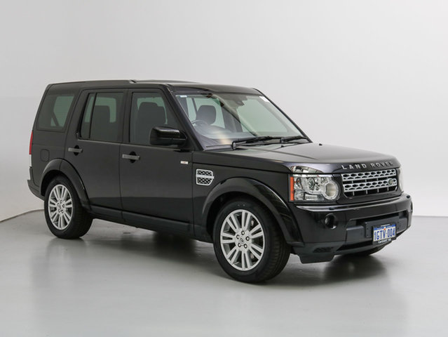 Used Land Rover Discovery 4 MY12 3.0 SDV6 SE, 2012 Land Rover Discovery 4 MY12 3.0 SDV6 SE Black 6 Speed Automatic Wagon