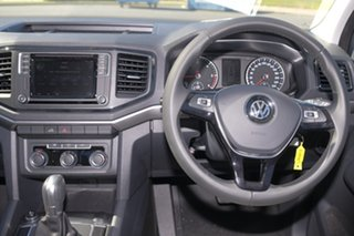 2018 Volkswagen Amarok 2H MY19 TDI550 4MOTION Perm Core Indium Grey 8 Speed Automatic Utility